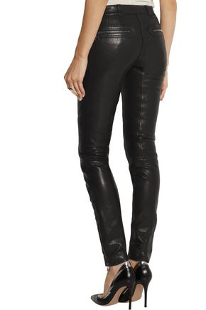 BELSTAFF Telford leather skinny pants