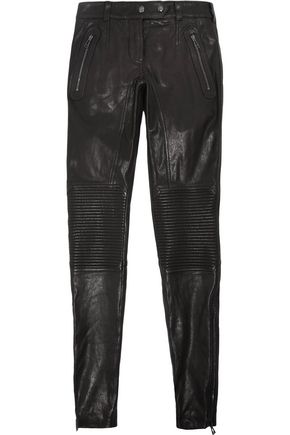 BELSTAFF Telford leather skinny pants