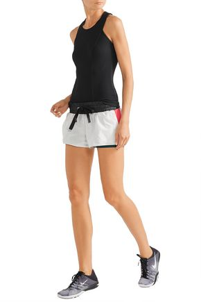 NO KA 'OI Hilo layered shell and stretch-jersey shorts