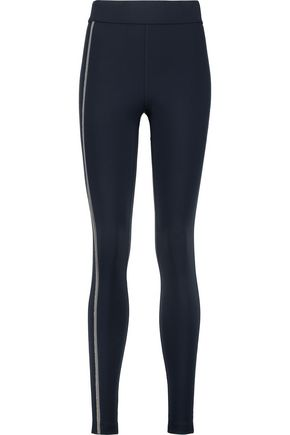 NO KA 'OI Kala bead-embellished stretch-jersey leggings