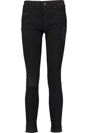 RTA Prince distressed nubuck skinny pants