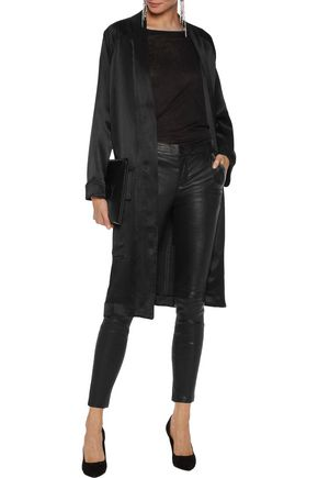 RTA Lucy leather skinny pants