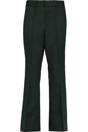 RAOUL Stretch-twill wide-leg pants