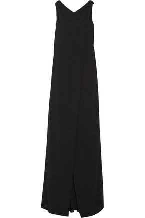RAOUL Jeanette draped crepe jumpsuit