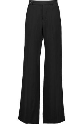RICK OWENS Dietrich crepe wide-leg pants
