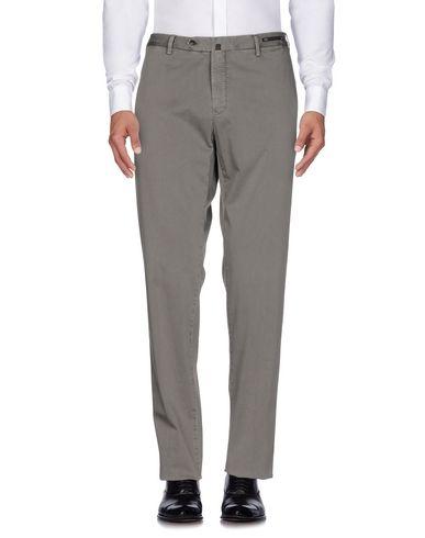Фото - Повседневные брюки от PT01 свинцово-серого цвета