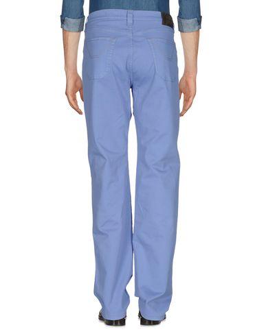 Фото 2 - Повседневные брюки сиреневого цвета