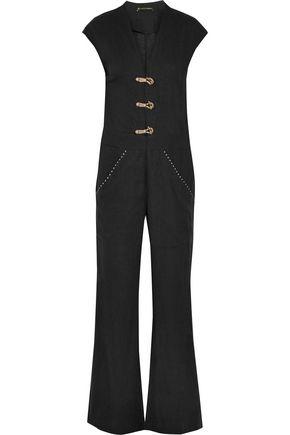 VIX Linen-blend jumpsuit