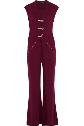 VIX PAULAHERMANNY Linen-blend jumpsuit