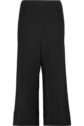 SOYER Stretch-knit culottes