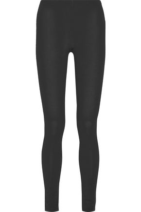 MAJESTIC Stretch-jersey leggings