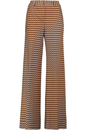 MISSONI Wool-blend wide-leg pants