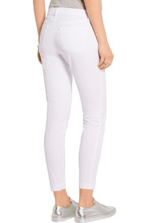 J BRAND Genesis stretch-cotton twill skinny pants