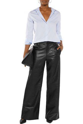 J BRAND Carine leather wide-leg pants