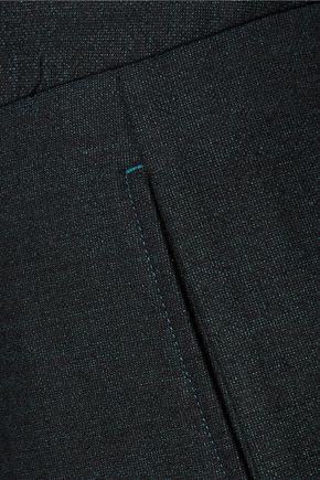 MAISON MARGIELA Pleated wool-blend slim-leg pants