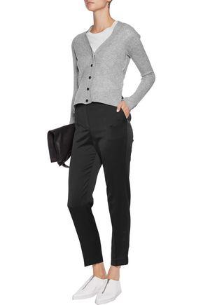BY MALENE BIRGER Satin-crepe straight-leg pants