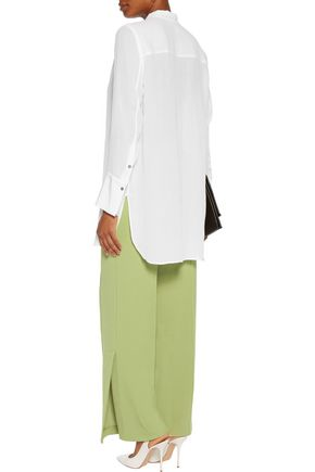 BY MALENE BIRGER Mulanas stretch-crepe wide-leg pants