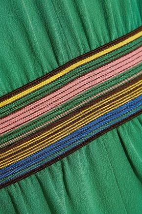 M.I.H JEANS Silk crepe de chine jumpsuit