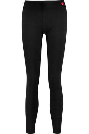 LOVE MOSCHINO Stretch-denim leggings