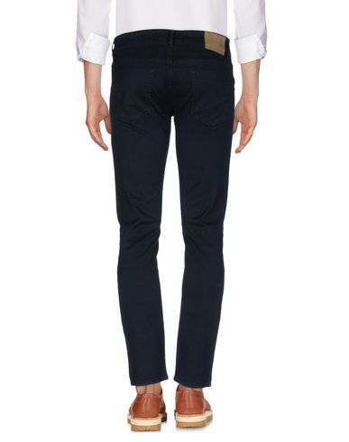 Фото 2 - Повседневные брюки от SIVIGLIA темно-синего цвета