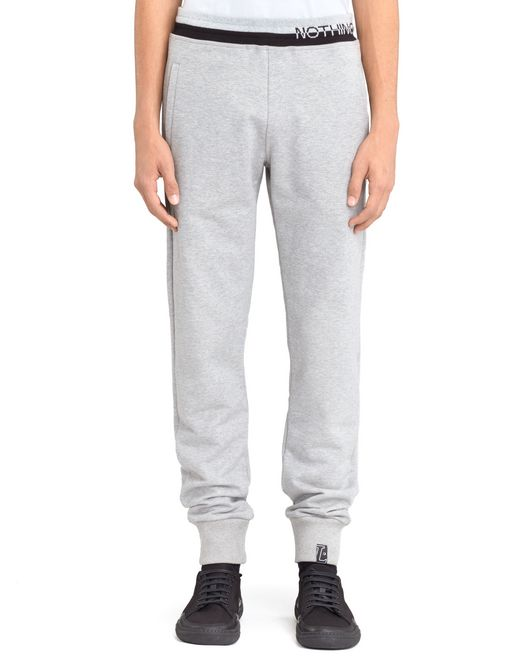 "lanvin ""enter nothing"" jogging pants men"
