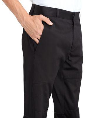 LANVIN BLACK BIKER PANTS Pants U a