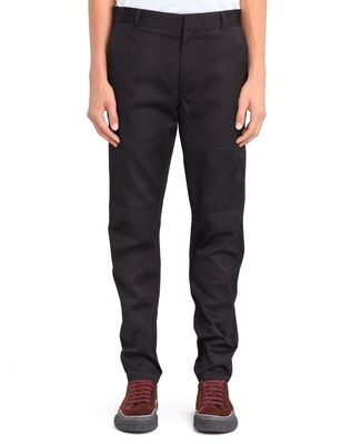 LANVIN BLACK BIKER PANTS Pants U f