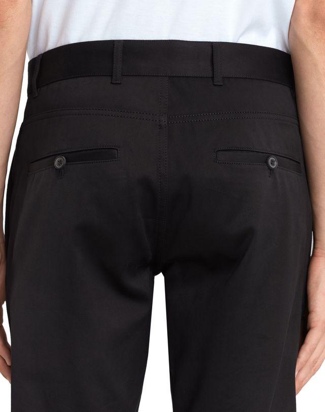LANVIN BLACK BIKER PANTS Pants U b