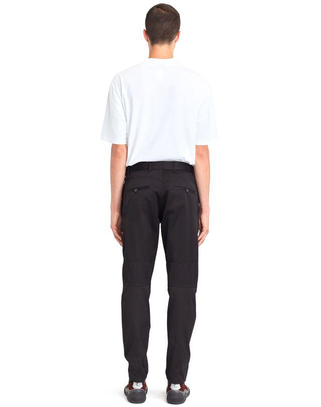 LANVIN BLACK BIKER PANTS Pants U d