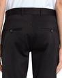 LANVIN Pants Man BLACK BIKER PANTS f
