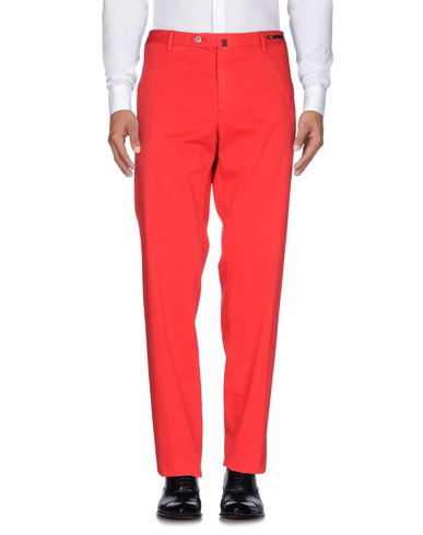Фото - Повседневные брюки от PT01 красного цвета