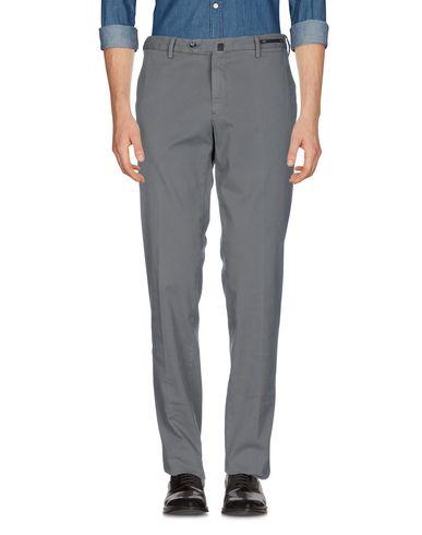 Купить Повседневные брюки от PT01 светло-серого цвета