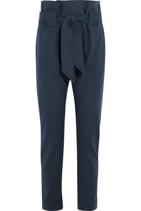 VIVIENNE WESTWOOD ANGLOMANIA Kung Fu tie-front stretch-cotton tapered pants