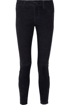 J BRAND Suede skinny pants