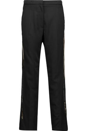 MM6 MAISON MARGIELA Stretch-crepe tapered pants