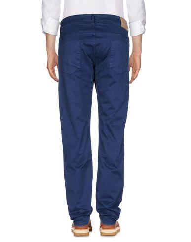 Фото 2 - Повседневные брюки от SIVIGLIA синего цвета