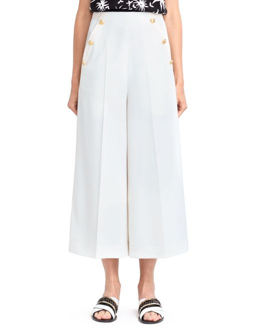 lanvin sailor culottes women
