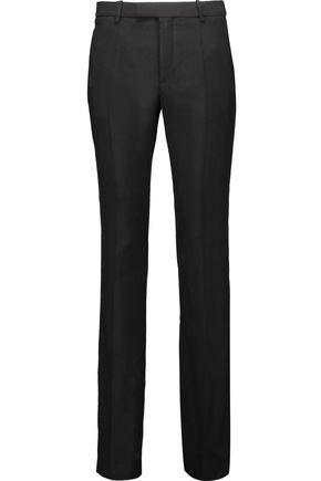 MAISON MARGIELA Wool and mohair-blend straight-leg pants