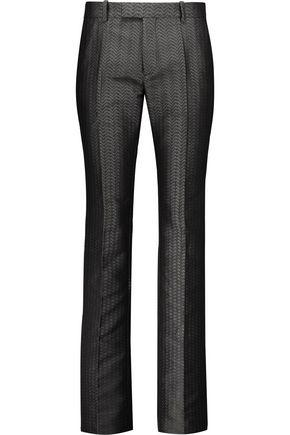 MAISON MARGIELA Jacquard straight-leg pants