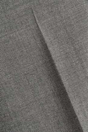 ANTONIO BERARDI Wool and mohair-blend tapered pants