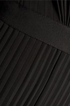 CATHERINE DEANE Hessa lace-trimmed plissé satin-jersey jumpsuit