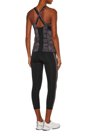 PURITY ACTIVE Cropped stretch leggings