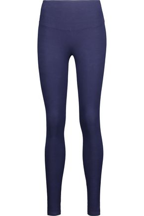 YUMMIE by HEATHER THOMSON® Milan stretch cotton-blend leggings