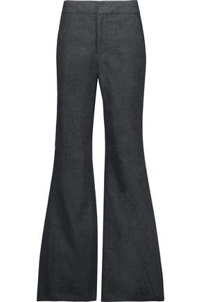 CO Cotton bootcut pants