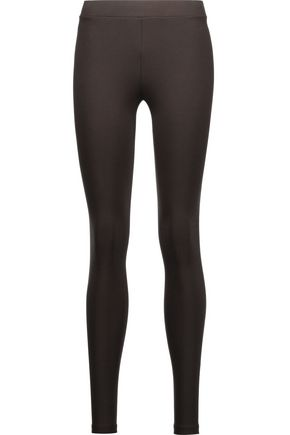VINCE. Scrunch stretch-jersey leggings