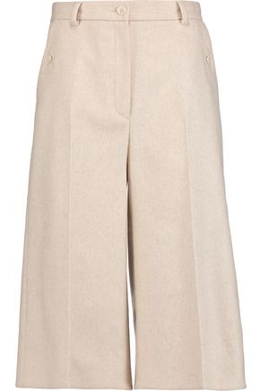 MM6 by MAISON MARGIELA Wool-blend felt culottes