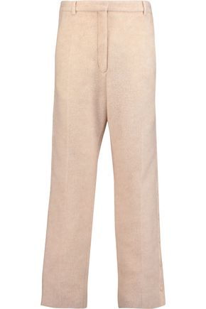MM6 MAISON MARGIELA Snap-fastening knitted straight-leg pants