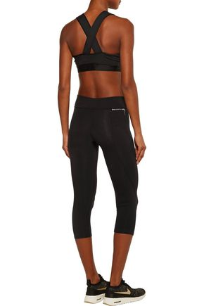 LIVE THE PROCESS Cropped stretch leggings