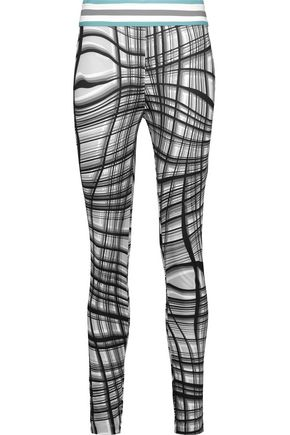 NO KA 'OI Kala printed stretch leggings