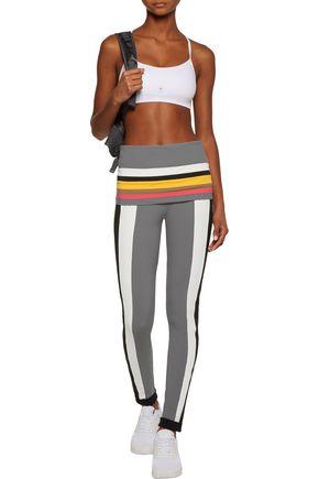 NO KA 'OI Kalia color-block stretch-jersey leggings